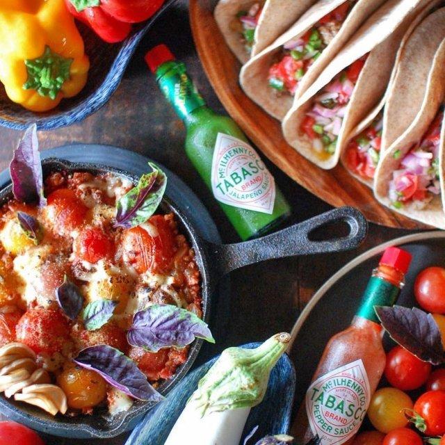 どのTABASCO®ソースでも、メキシコ料理と相性抜群。どんな組み合わせでも、口の中で広がる味の踊り!  @lip1696 さんのマイ #タバスコ  ハッシュタグ「#タバスコ」であなただけのTABASCO®ソースの楽しみ方をシェアしてみてください。もしかしたらTABASCO® Brandの日本公式アカウントに掲載されるかも? . . . . . #メキシコ料理 #タコス #ハラペーニョソース #トルティーヤ #ミートソース #メキシコ #おうちごはん #世界料理 #メキシカン料理 #タコスミート #スキレット #スキレット料理